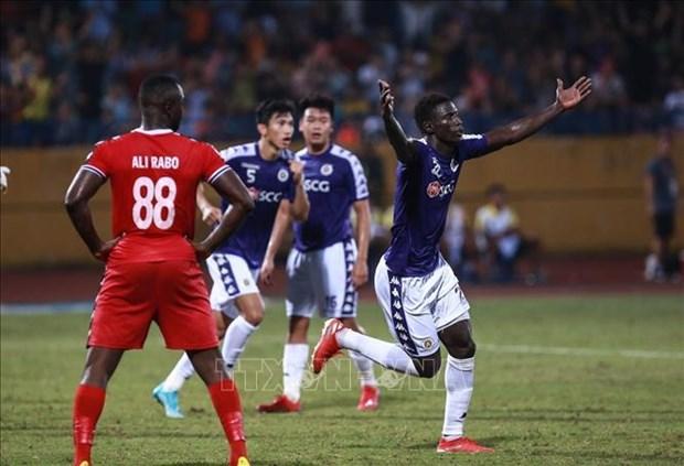 2019年亚足联杯:河内足球俱乐部赢得亚洲区域半决赛门票 hinh anh 1