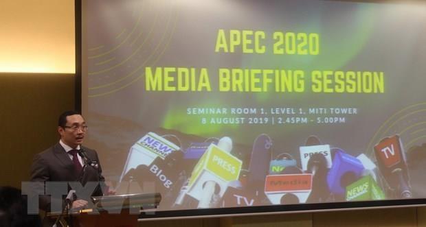 马来西亚为2020年APEC会议做出积极准备 hinh anh 1