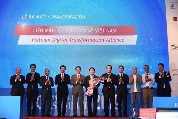 越南数字化转型联盟正式亮相 hinh anh 1