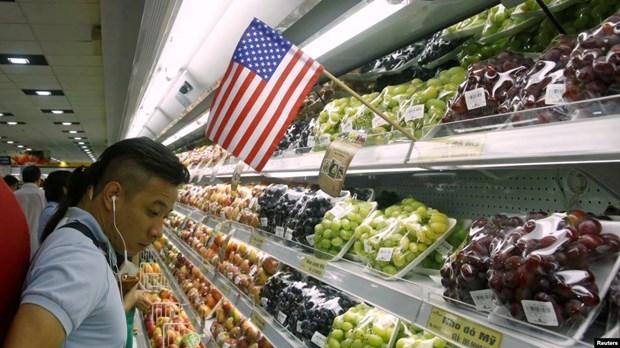 进入越南市场的美国农产品日益增加 hinh anh 1