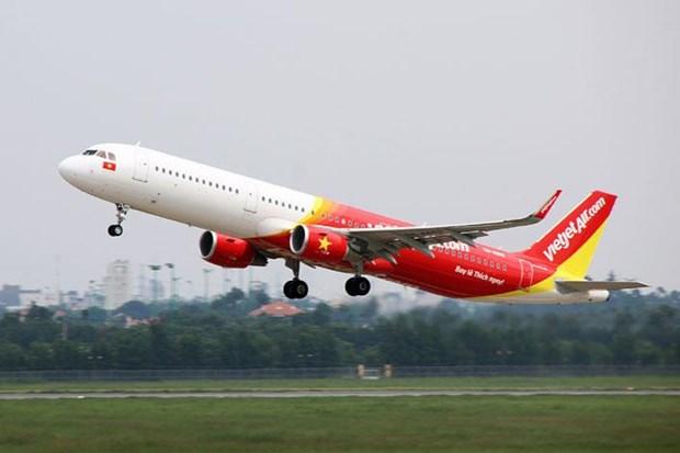 """受""""利奇马""""台风影响越捷取消8月9日飞往台北的航班 hinh anh 1"""