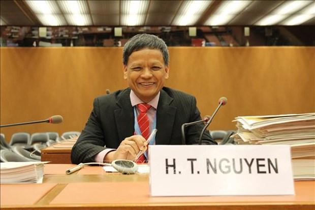 越南代表出席联合国国际法委员会第71届大会第二次会议 hinh anh 1