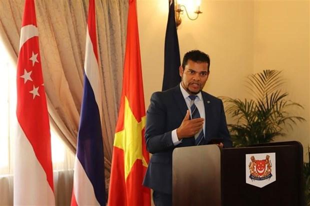 东盟成立52周年纪念活动在世界多国举行 hinh anh 1