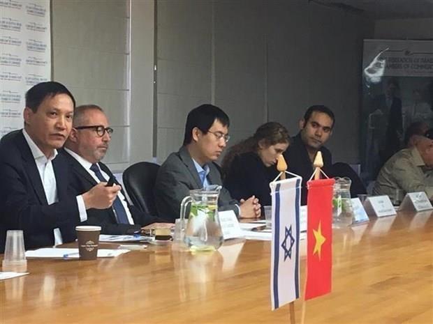 以色列特拉维夫市愿同越南各省市分享经验与开展合作 hinh anh 1