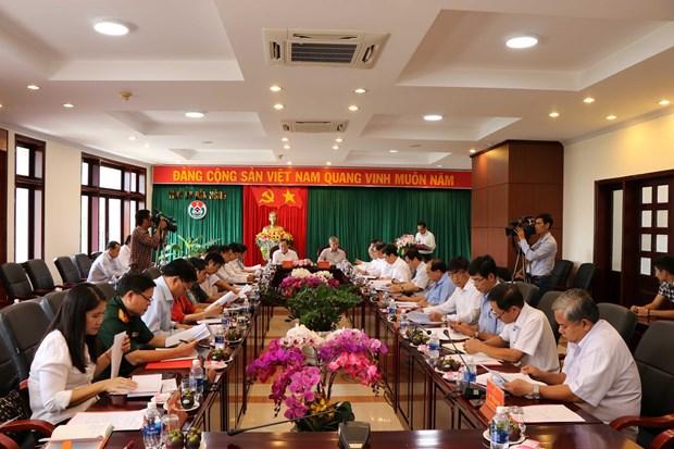 越共中央书记处常务书记陈国旺视察得农省 hinh anh 1