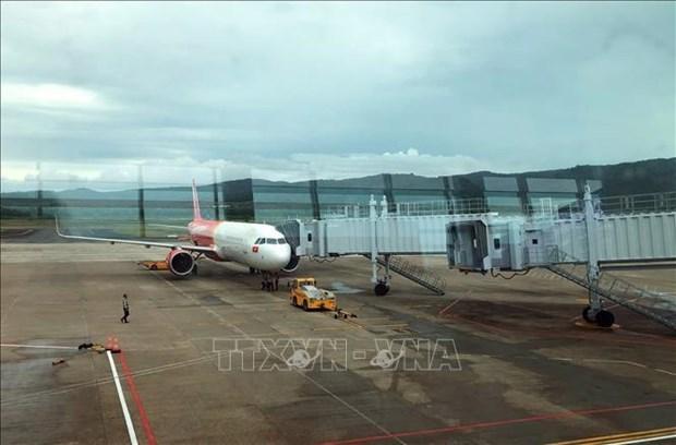 越南各家航空公司调整飞往富国、中国上海和台湾的航班执行计划 hinh anh 1