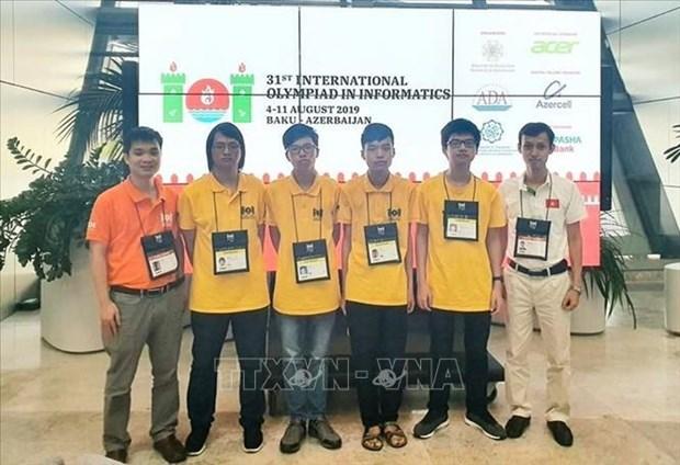越南在2019年第 31 届国际信息学奥林匹克竞赛中排名世界第4 hinh anh 1