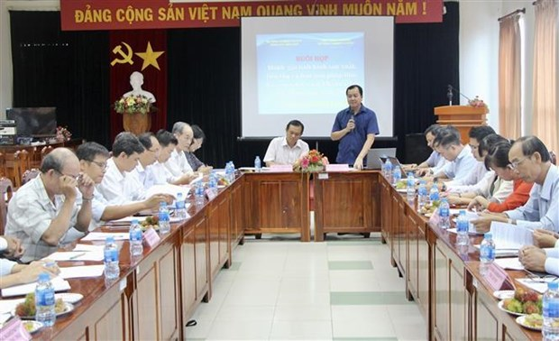 九龙江三角洲地区各省市探讨进一步促进查鱼出口的措施 hinh anh 1