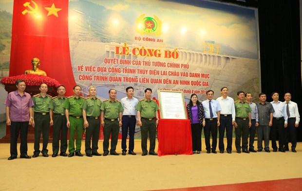 莱州水电站正式被列入国家安全重点工程名单 hinh anh 1