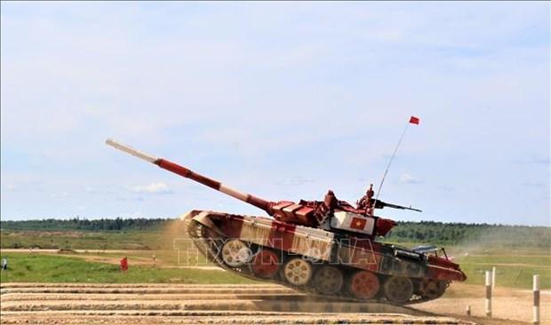 越南坦克队在2019年国际军事比赛中表现出色 hinh anh 1