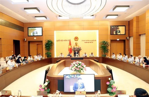 越南第十四届国会常委会第36次会议开幕 hinh anh 1