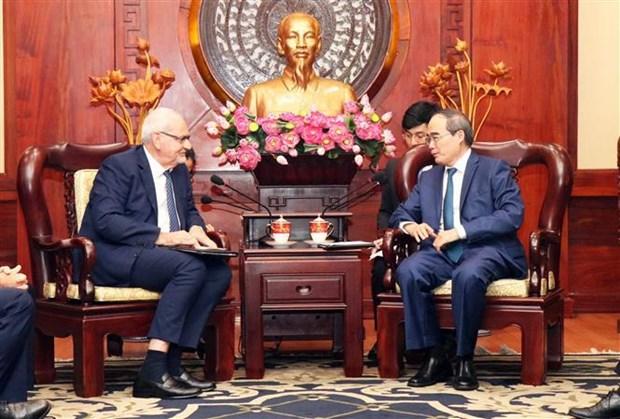 胡志明市与国际金融公司合作求发展 hinh anh 1