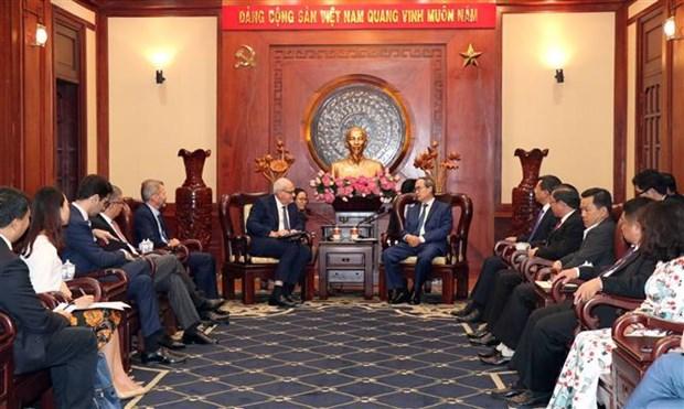 胡志明市与国际金融公司合作求发展 hinh anh 2