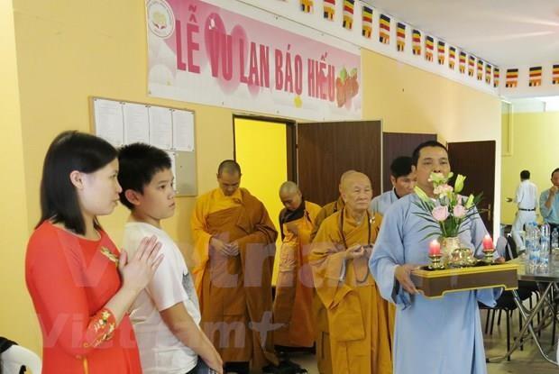 旅居捷克越南人的首个州级佛教文化中心问世 hinh anh 2