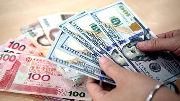 8月12日越盾对美元汇率中间价下调2越盾 hinh anh 1