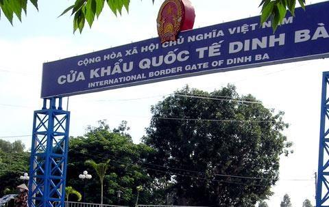 越南同塔省与柬埔寨波罗勉省促进边贸合作 hinh anh 1