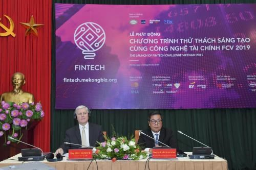第二次越南金融技术创新挑战赛启动 hinh anh 1