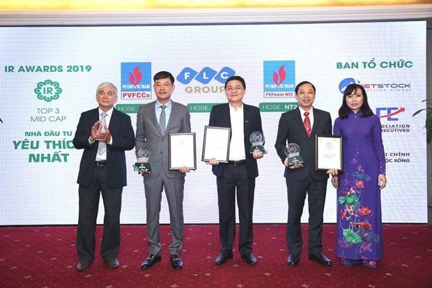 越南最佳投资者关系上市公司获表彰 hinh anh 1