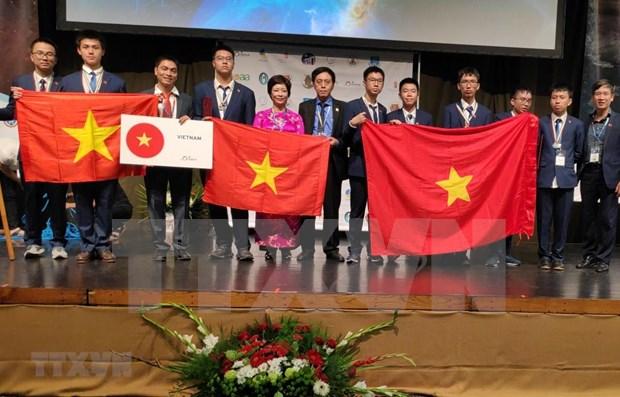越南在第13届国际天文学和天体物理学奥林匹克竞赛中排名第五 hinh anh 2