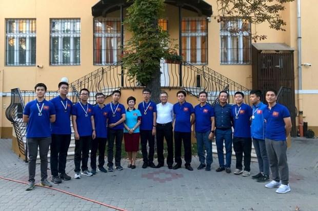 越南在第13届国际天文学和天体物理学奥林匹克竞赛中排名第五 hinh anh 1