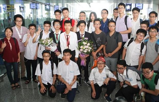 越南教育培训部领导:优秀学生培养运动扩展到全国各省市 hinh anh 2