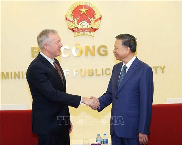 谷歌希望继续与越南公安部加强合作 hinh anh 1