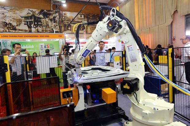 第11届越南国际工业机械制造展览会在河内举行 hinh anh 1