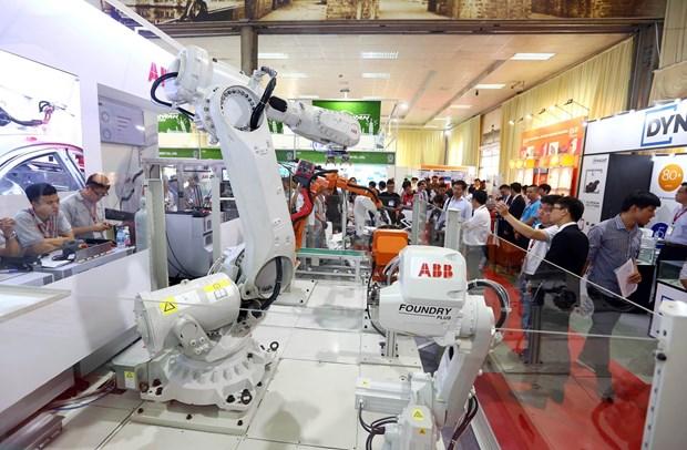 第11届越南国际工业机械制造展览会在河内举行 hinh anh 2
