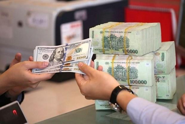 8月15日越盾对美元汇率中间价下调6越盾 hinh anh 1