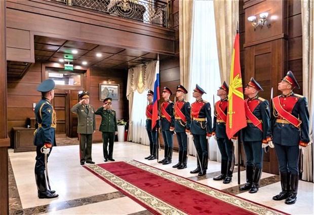 越南与俄罗斯加强防务合作 hinh anh 1
