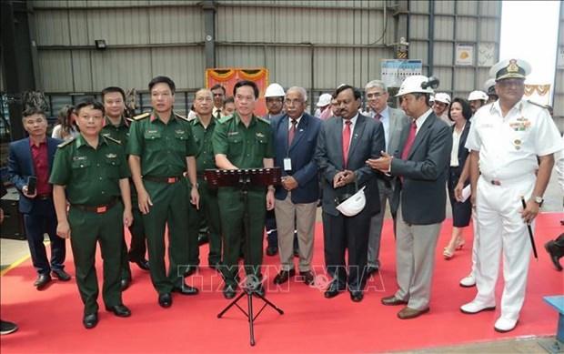 印度为越南建造12艘高速巡逻艇 hinh anh 1