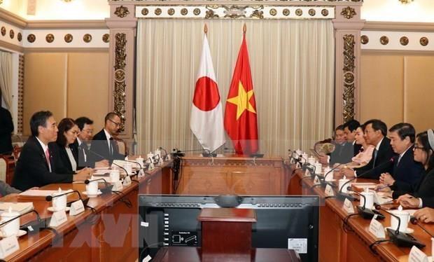 胡志明市与日本长野县深化合作努力将合作计划落到实处 hinh anh 2