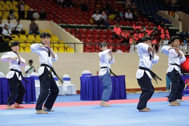 2019年第2届亚洲跆拳道公开赛开幕 hinh anh 1