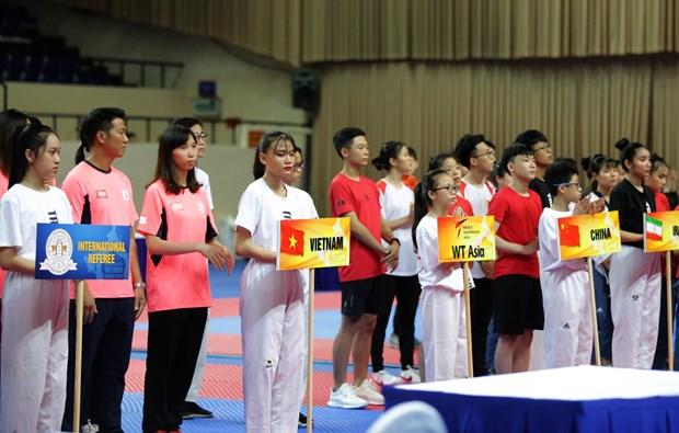 2019年第2届亚洲跆拳道公开赛开幕 hinh anh 2
