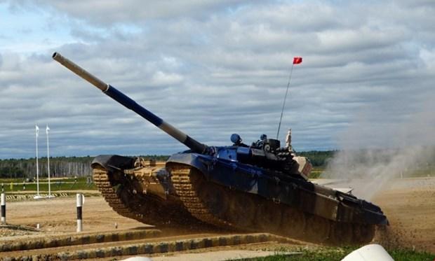 2019年俄罗斯国际军事比赛:越南坦克队赢得小组第二名 hinh anh 2