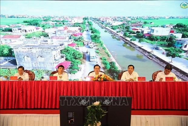 红河平原与中部以北地区新农村达标乡占近70% hinh anh 1