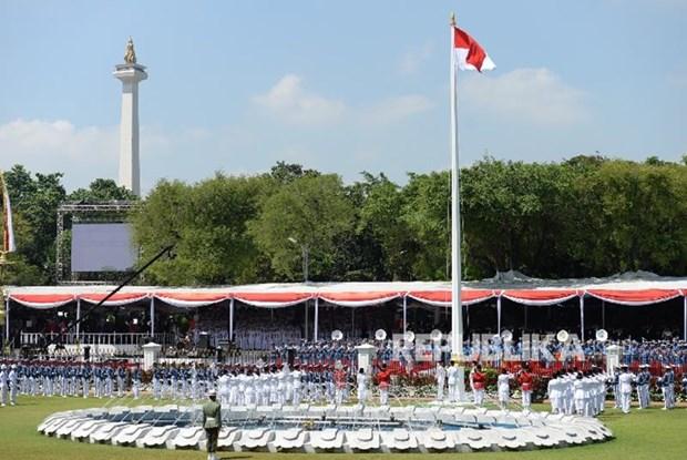 印度尼西亚国庆74周年庆祝活动在河内举行 hinh anh 1