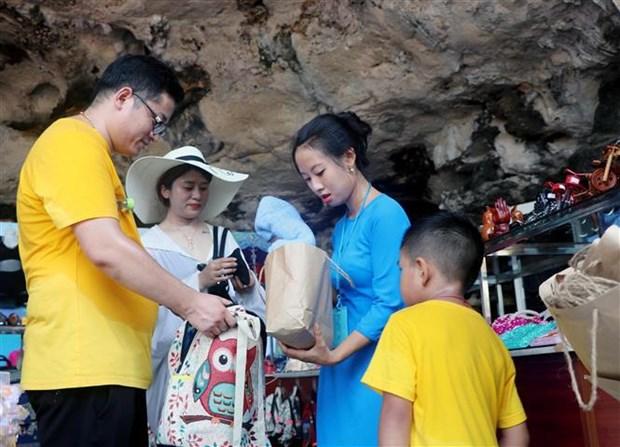 广宁省下龙湾各经营单位自9月起停止使用一次性塑料产品 hinh anh 1