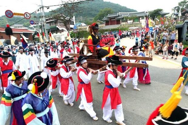 """""""越南游客欢迎周""""活动将于9月初在韩国举行 hinh anh 1"""