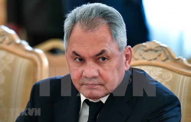 缅甸与俄罗斯军队加强多方面合作 hinh anh 1