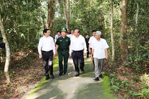 政府副总理张和平:政府一向关注边民的生活 hinh anh 2