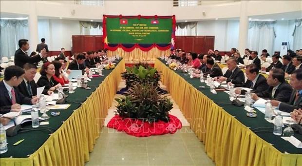 越柬经济、文化与科技合作联合委员会第十七次会议高官会今日开幕 hinh anh 1