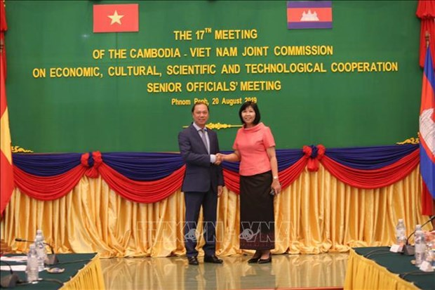 越柬经济、文化与科技合作联合委员会第十七次会议高官会今日开幕 hinh anh 2