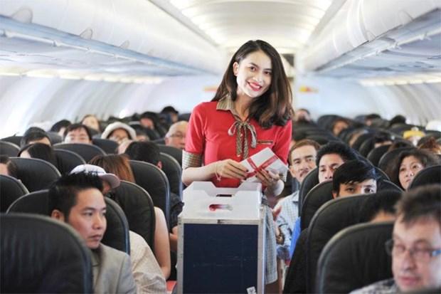越捷航空从河内和胡志明市飞往印度新德里的航线推出特价机票 hinh anh 2