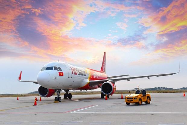 越捷航空从河内和胡志明市飞往印度新德里的航线推出特价机票 hinh anh 1
