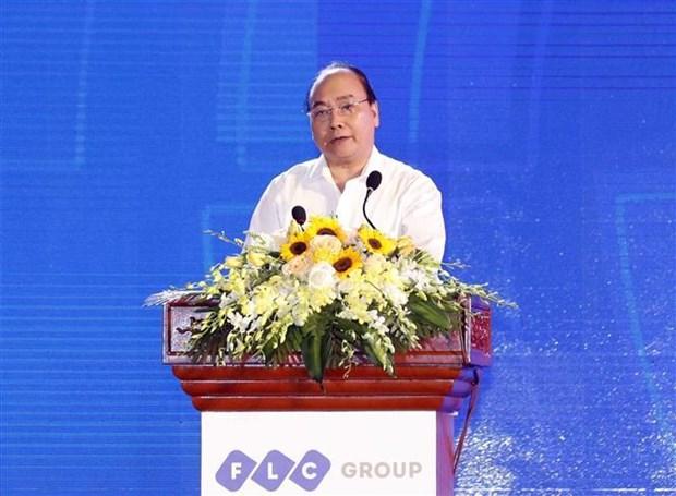 越南政府总理阮春福:使中部重点经济区成为发展动力 hinh anh 2