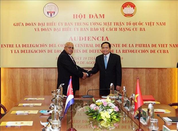 促进越南与古巴的全面合作 hinh anh 1