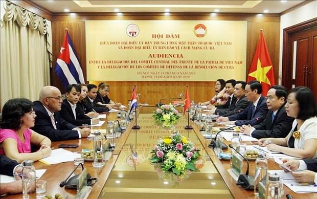 促进越南与古巴的全面合作 hinh anh 2