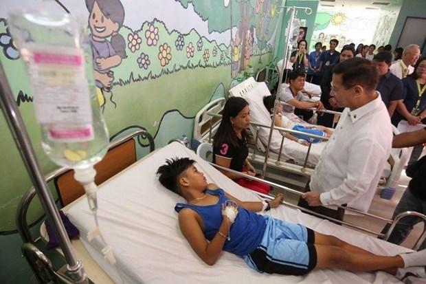 菲律宾登革热病例激增 hinh anh 1