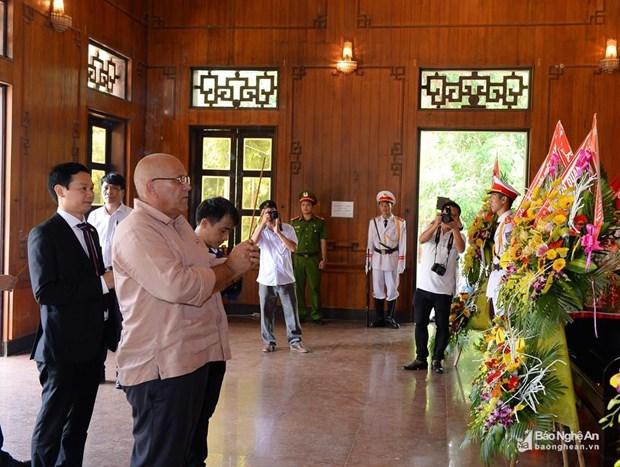 胡志明主席逝世50周年纪念活动在乂安省举行 hinh anh 2